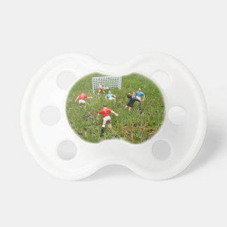 Plastic Football Players Pacifier/Dummy Dummy