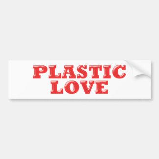Plastic Love Bumper Stickers