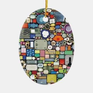 Plastic Magic Elegance Ceramic Oval Decoration