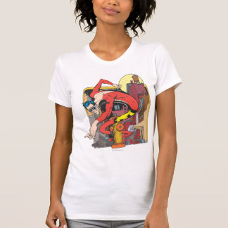 Plastic Man Shape-Shifts in the City T Shirt