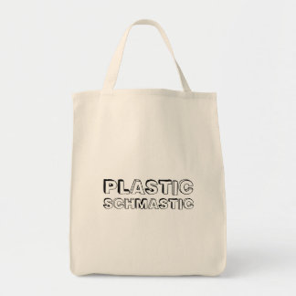 Plastic Schmastic - grocery tote