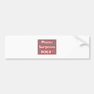 Plastic Surgeons Rock! Bumper Stickers