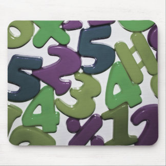 Plastic Toy Numbers Mousepad