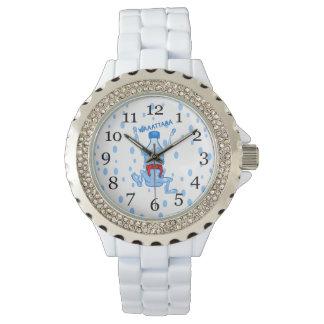 Plastic Water Bottle Martial Arts Wristwatch