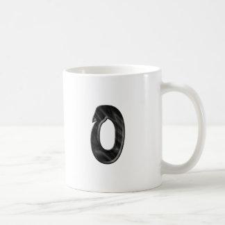 Plastic Wrap Monogram Mugs