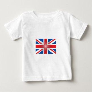 Plastic Wrap Union Jack Baby T-Shirt