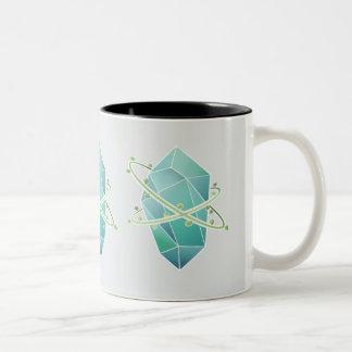 Plat Crystal Two-Tone Coffee Mug