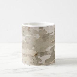 Platan bark texture mug