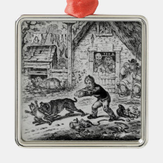 Plate 1, from 'The Life of William Cobbett' Christmas Ornament