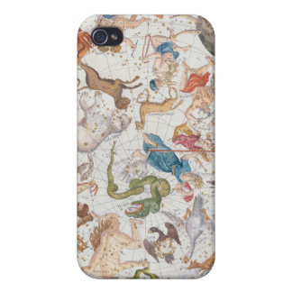 Plate 26 from 'Atlas Coelestis', by John Flamsteed iPhone 4 Covers