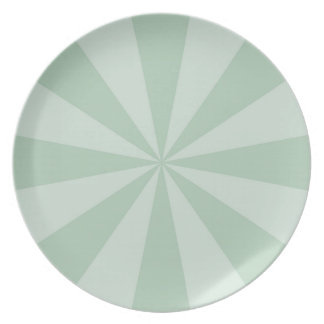 Plate drinks circus mint