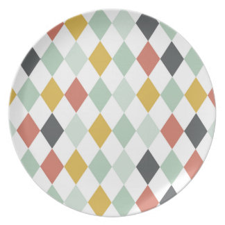 plate drinks circus rhombus