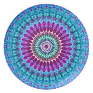 Plate Geometric Mandala G382