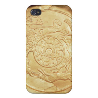Plate (gold) case for iPhone 4