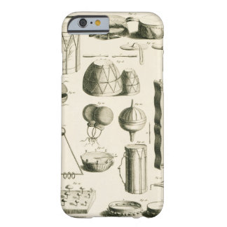 Plate II: Ancient and modern percussion instrument Barely There iPhone 6 Case