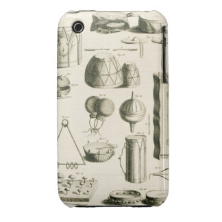 Plate II: Ancient and modern percussion instrument iPhone 3 Case