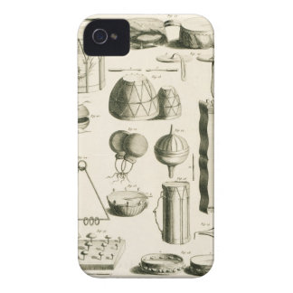 Plate II: Ancient and modern percussion instrument iPhone 4 Case