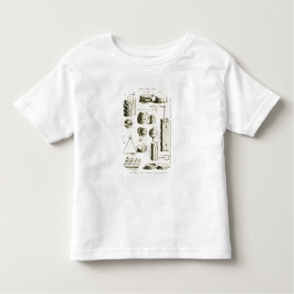 Plate II: Ancient and modern percussion instrument Toddler T-Shirt
