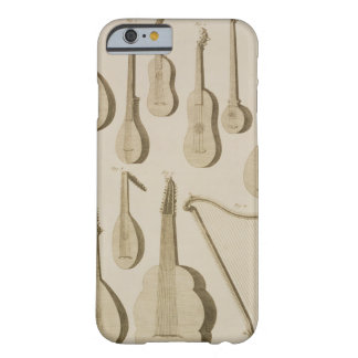 Plate III: Ancient and modern stringed and plucked Barely There iPhone 6 Case