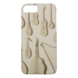 Plate III: Ancient and modern stringed and plucked iPhone 8/7 Case