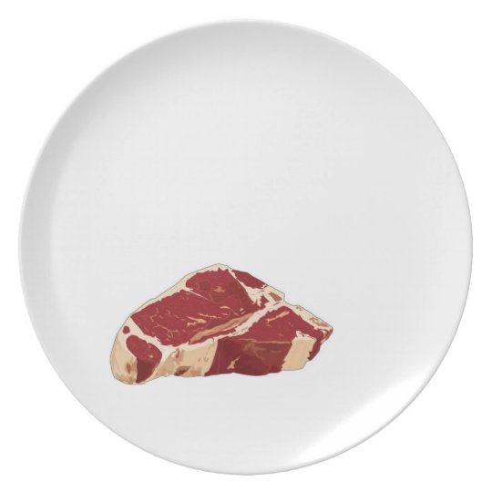 plate, meat, beef plate