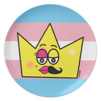 Plate Melamine - Transgênero Transexual DragQueen