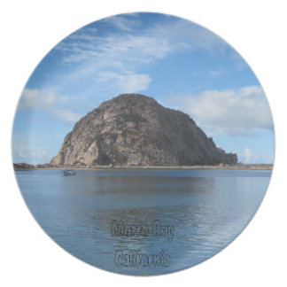 Plate: Morro Rock in Morro Bay Plates