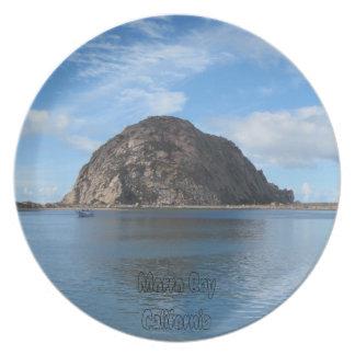 Plate: Morro Rock in Morro Bay Plates
