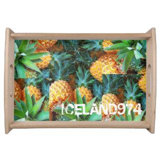 PLATE PETIT-DEJEUNER-ICELAND974 FOOD TRAYS