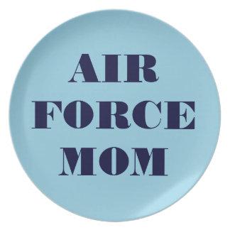 Plate Proud Air Force Mum