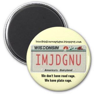 Plate Rage Magnet