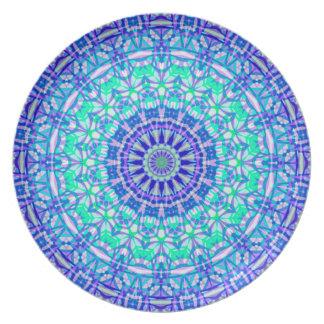Plate Tribal Mandala G389