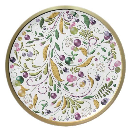 Plate - Tuscan Circle