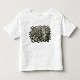 Plate VIII from A Rake's Progress, 1735 Toddler T-Shirt