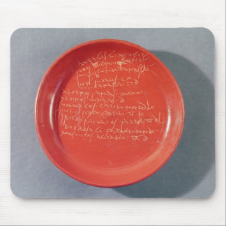 Plate with Celtic text, 1st-2nd century Mouse Pad