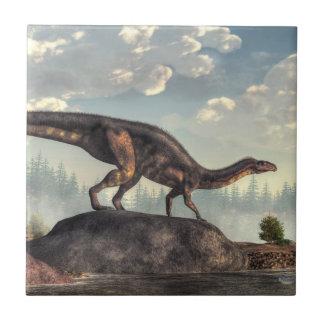Plateosaurus Small Square Tile