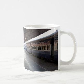 Platforms 2 and 3 of Jodhpur Railway Station Coffee Mug