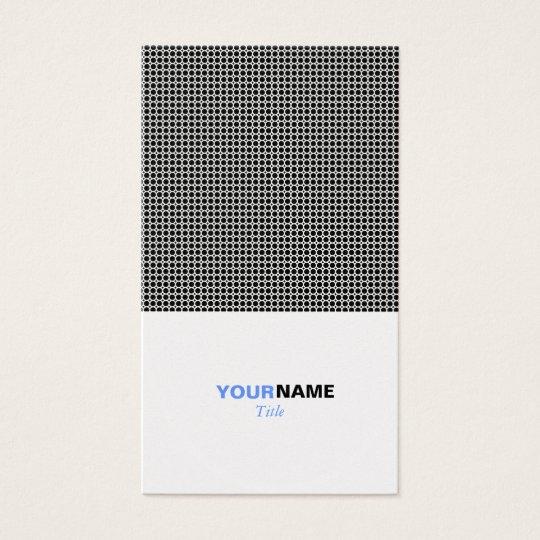 Platinum Grid Business Card