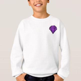 Platnum3 plain white jumper sweatshirt