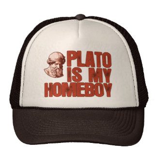 Plato Is My Homeboy Cap