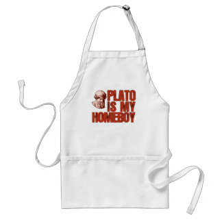 Plato Is My Homeboy Standard Apron