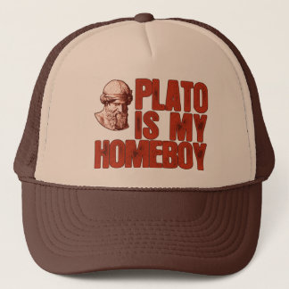 Plato Is My Homeboy Trucker Hat