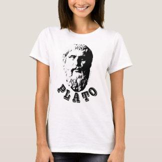 Plato Philosophy Bust Beard Unisex Spleeburgen T-Shirt