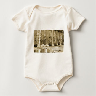 Plato philosophy quote about fools and wisdom baby bodysuit