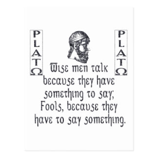 Plato Post Cards