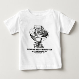 Platonic Model Of Solar System Mysterium Kepler Baby T-Shirt