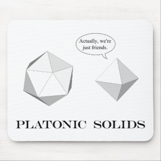 Platonic Solids mousepad