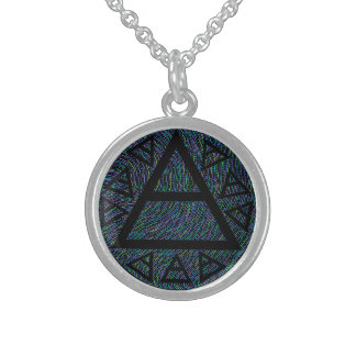 Plato's Ancient Air Sign Art Necklace Charm