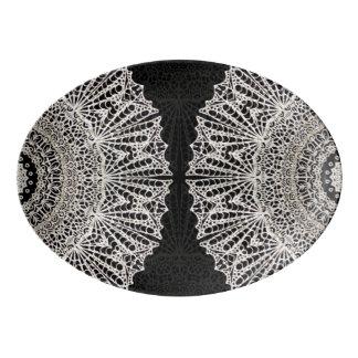 Platter Mandala Mehndi Style G384