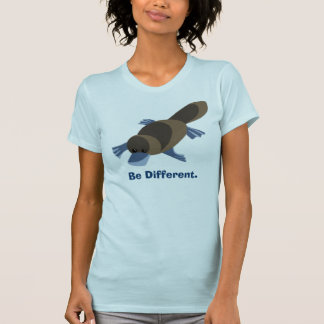 platy1, Be Different.  T-Shirt